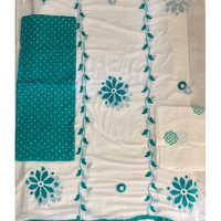 Unstitched Chiffon Dupatta Work With Embroidery