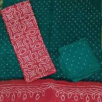 Bandhej Dress Material