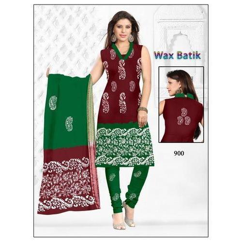Wax Batik Dress Material