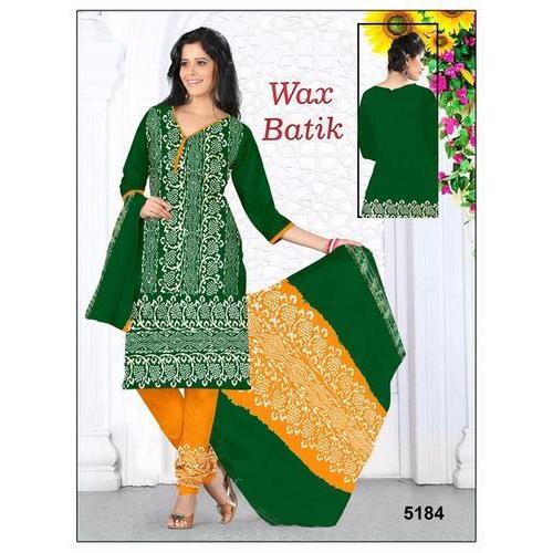 Oringinal Wax Batik Dress Material