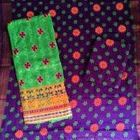 Jacquard Work With Printed Salwar Suits & Dupatta Material