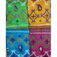 Unn Work With Bandhej Salwar And Dupatta Material