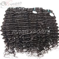Natural Remy Wave Curly Indian Human Hair Extension