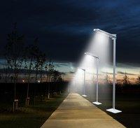 2000 Lumens Fully Automatic LED Solar Street Light