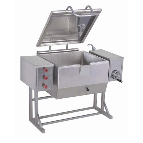 TILTING TYPE BRAZING PAN
