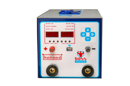 Battery HRD Tester With Backup test