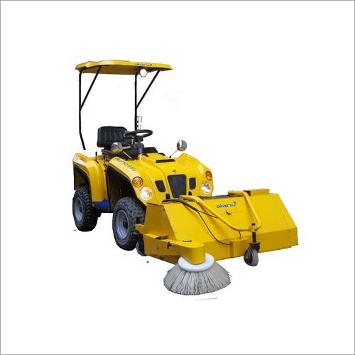 Ride On Hydraulic Brooming Machine