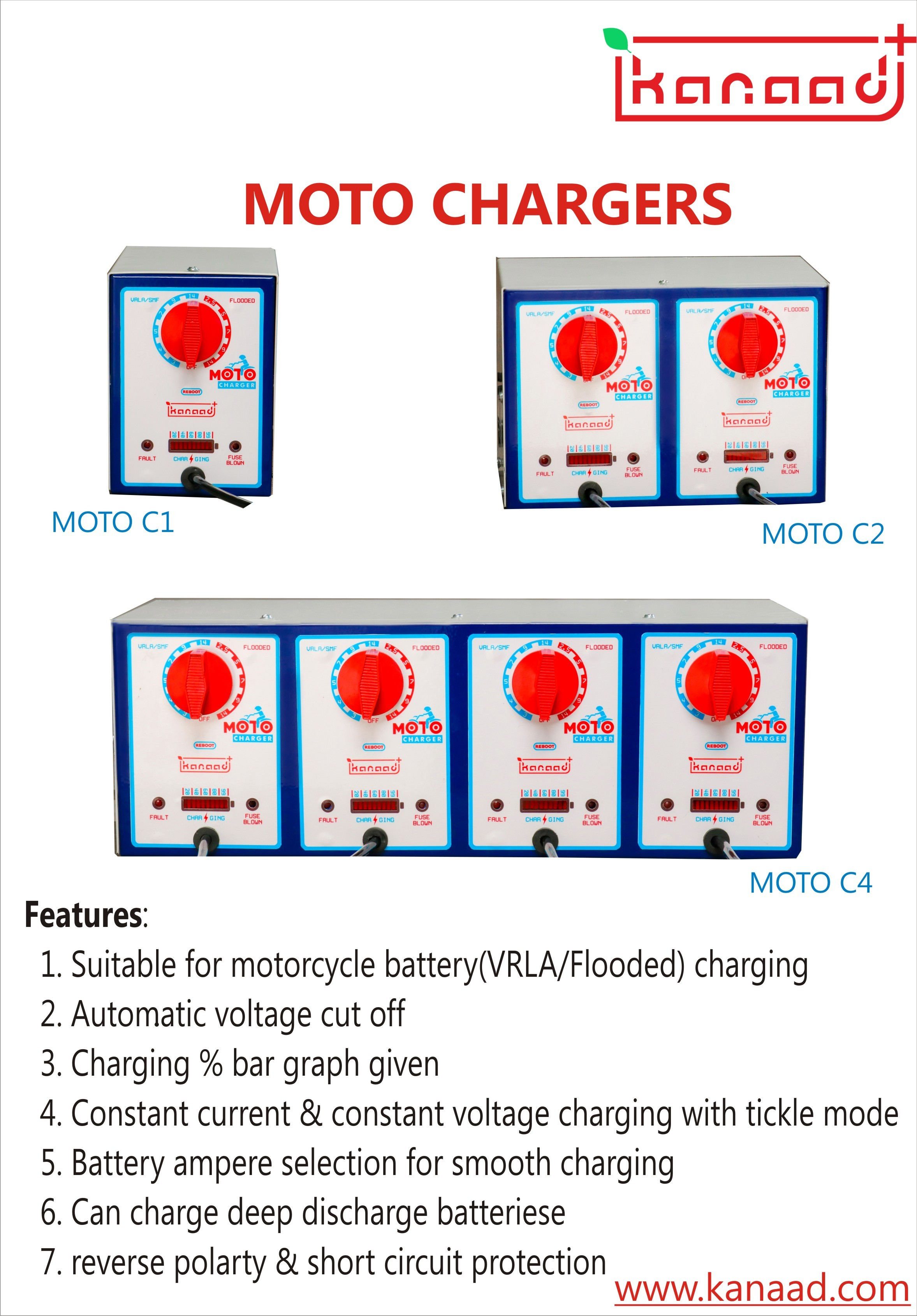 Motorcycle Battery Charger