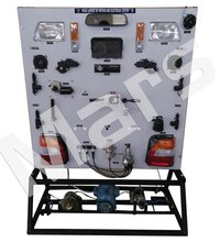Mock layout of Car Electrical System