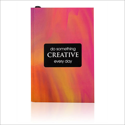 Do Something Creative Everyday Notebook