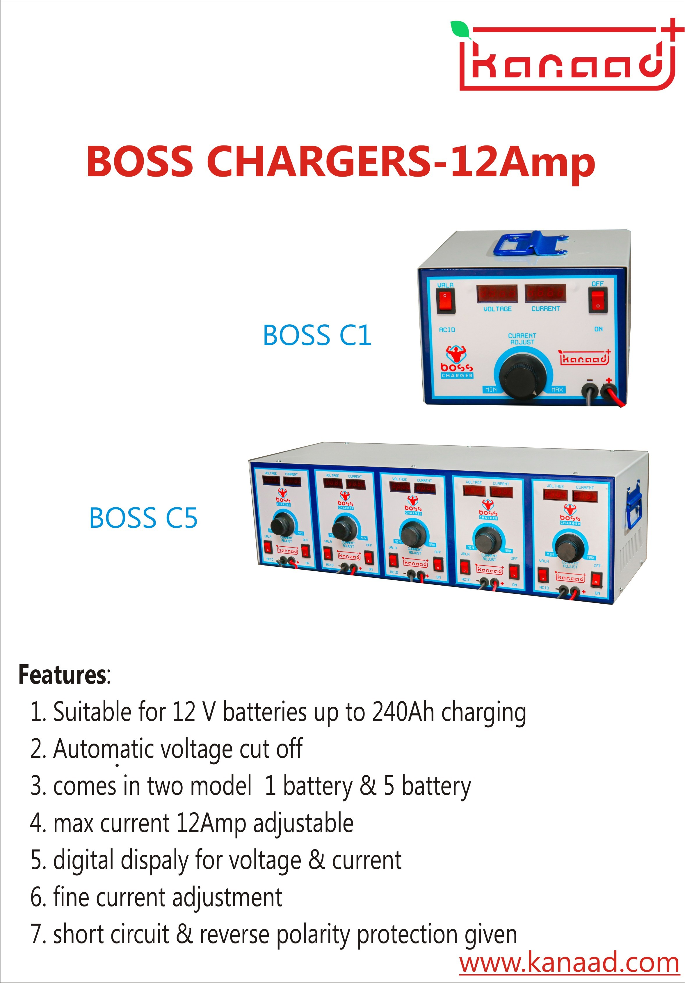 12 A Car Battery Charger