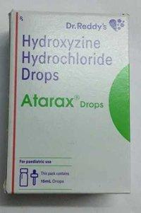 Hydroxyzine hydrochloride drop