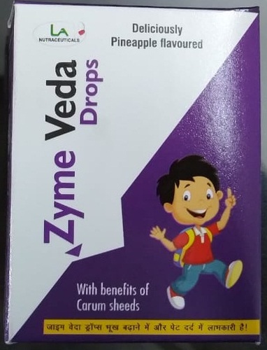 Zyme Veda Drops for Gastric Care & Indigestion (30ml)