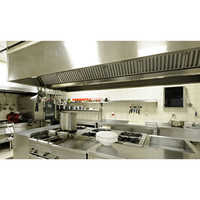 Commercial Air Kitchen Ventilator