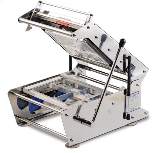 Multi compartment Tray Sealer
