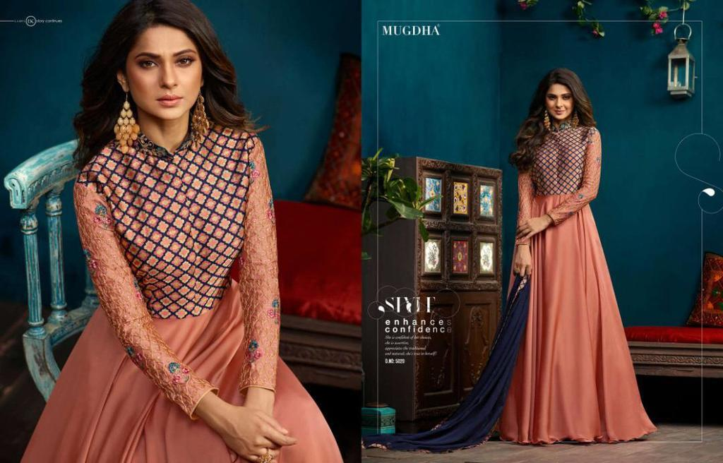 Party Wear Gown Style Suits