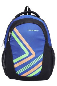 Hard Craft Unisex's Backpack 15inch Laptop Backpack Lightweight (D-Blue-Black)