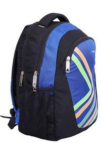 Hard Craft Unisex's Backpack 15inch Laptop Backpack Lightweight (D-Blue-Black)