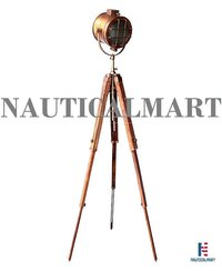NauticalMart Spotlight Decor Floor Light Nautical Standing Studio Lamp Holiday Gifts (B07FXHKGDD)