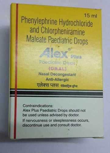 phenylephrine hydrocloride  chlorpheniramine maleate paediatric drop