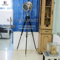 NauticalMart Nautical Floor Light Standing Studio Lamp Floor Spotlight Tripod Lamp Nautical Tripod Lighting (B015J2T1E4)