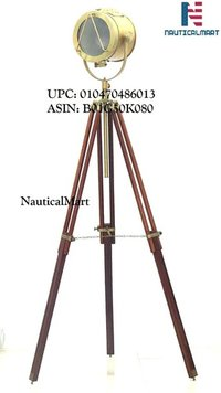 Nautical Standing Studio Tripod Floor Lamp Search Light / Spot Light By Nauticalmart ( B01G50K080 )