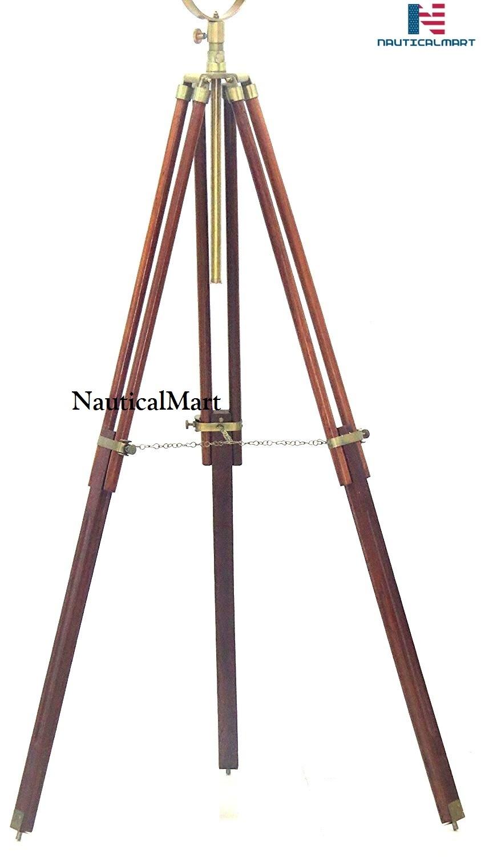 Nautical Standing Studio Tripod Floor Lamp Search Light / Spot Light By Nauticalmart ( B01G50K080 )