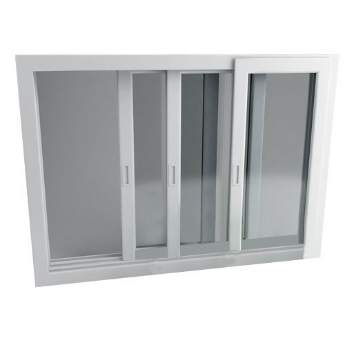 UPVC Three Track Sliding Window