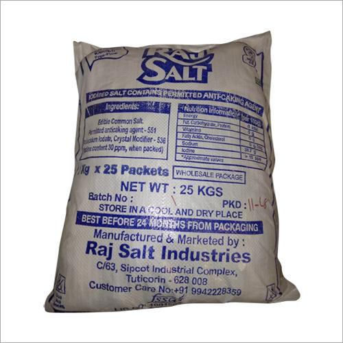 25 Kg Refined Salt
