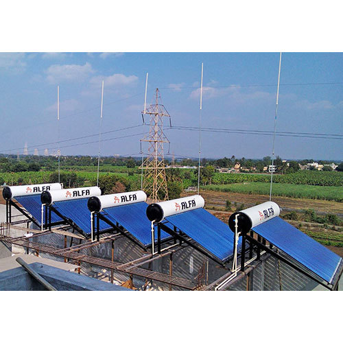 Solar Water Heater Heating
