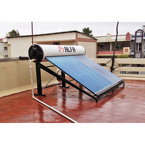 ETC Solar Water Heater