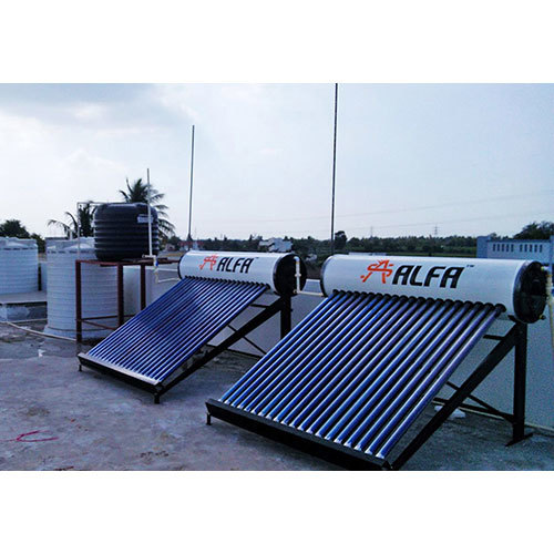 Commercial ETC Solar Water Heater