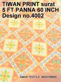 Taiwan Fabric Print