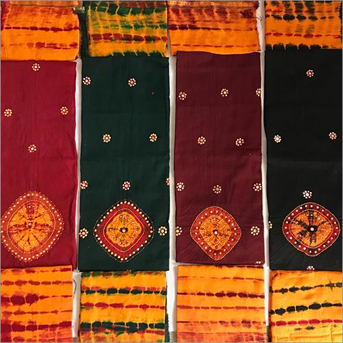 Unstitched Khatali & Mirror Work Ladies Salwar Suits