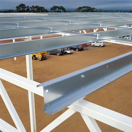Z Purlin Solar Structure