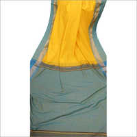 Ladies Printed Khadi Saree