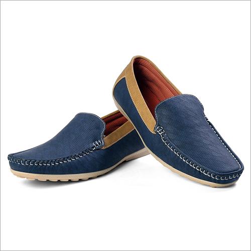 Mens Blue Loafer Shoes