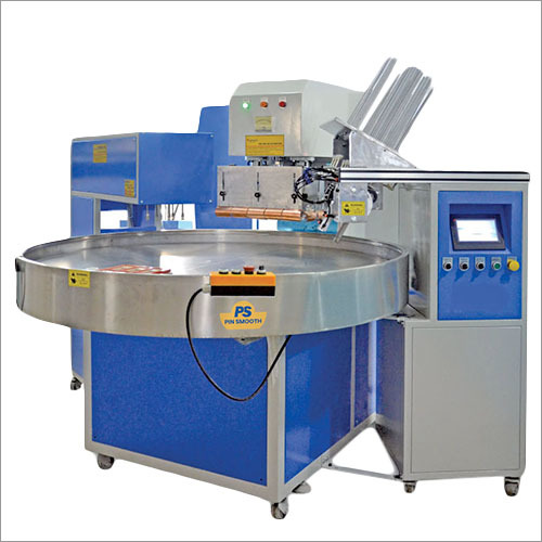 6 Station Rotary Type Blister Sealing Machine