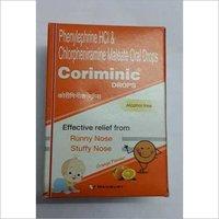 Phenylephrine hcl chlorpheniramine maleate oral drop