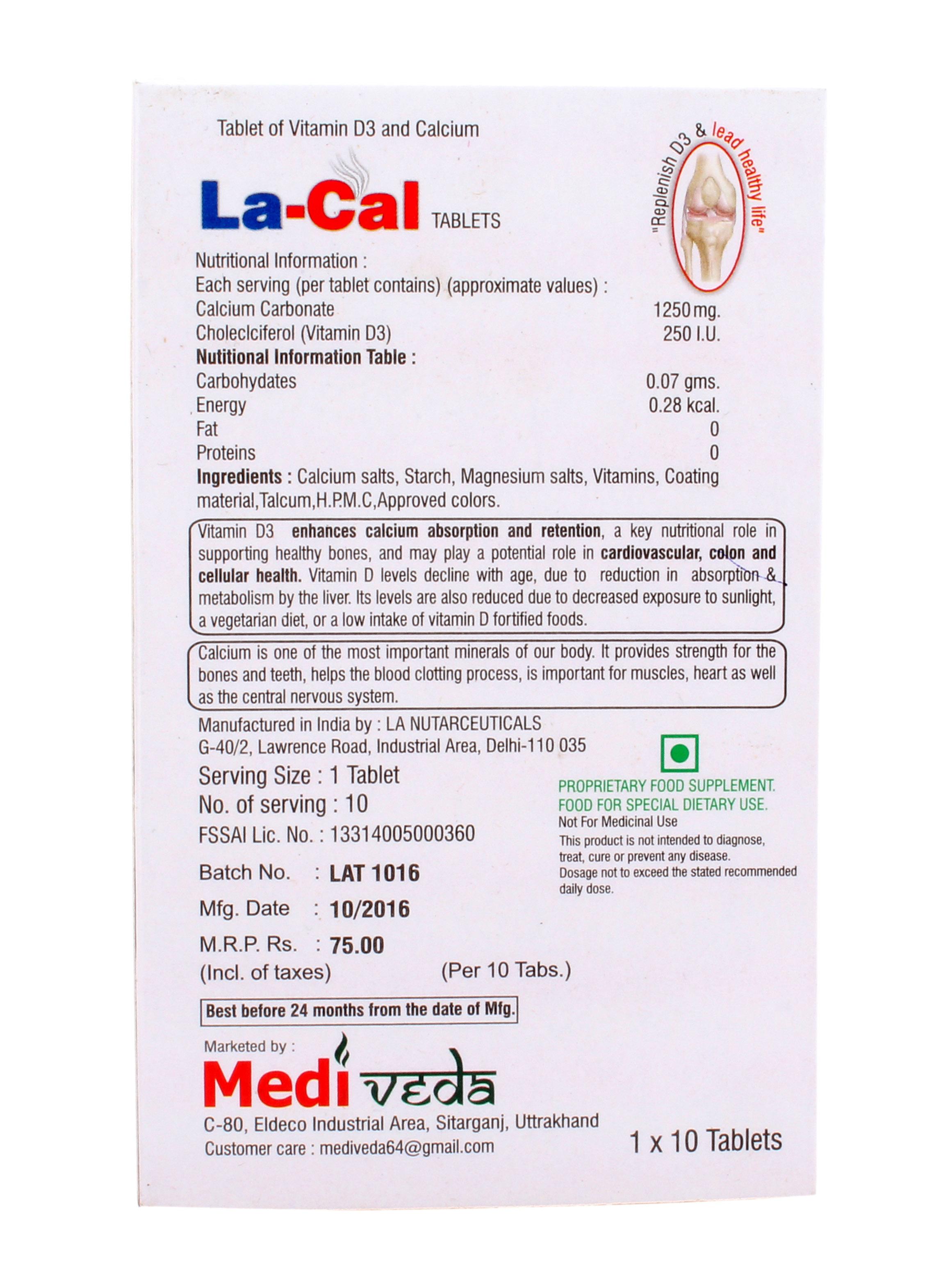 La-Cal Tablets