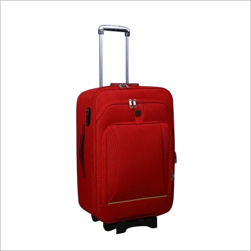 Vogue Red travel trolley bag