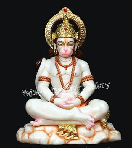 God Marble Hanuman Statue