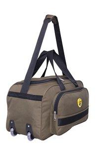 Hard Craft Nylon Waterproof Luggage Travel Bag with Roller Wheels