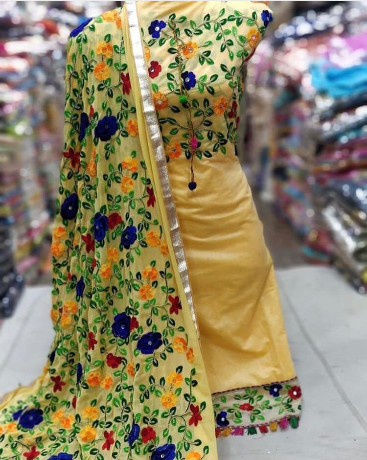 Women Suit Dress Materials