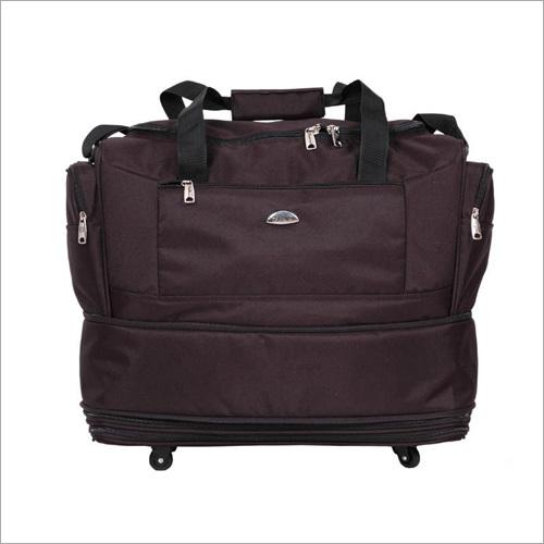Black Wheeled Bag