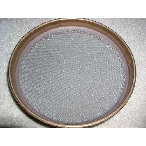 Test Sieves (Fine Series In 8'' Dia. Brass Frame)