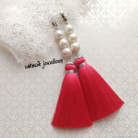 Silk Thread Tassel
