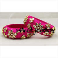 Designer Silk Thread Bangles