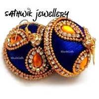 Ladies Silk Thread Earrings
