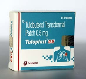 Tulobuterol Transdermal Patches